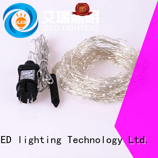 ILED operated plug in wire fairy lights lamp for bedroom