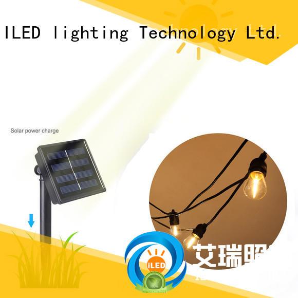 ILED solar festoon lights lamp for garden