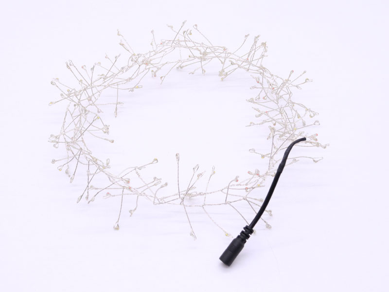 ILED operated plug in wire fairy lights manufacturer for tree-2