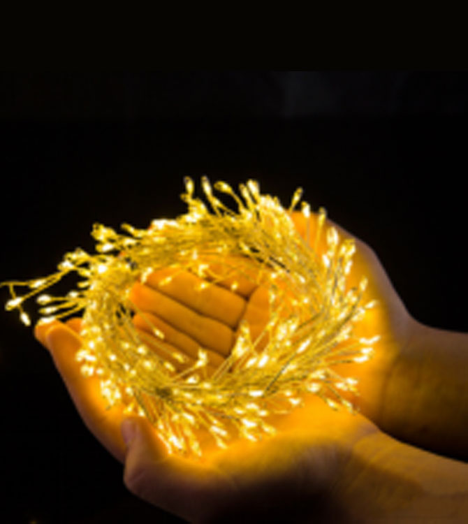 ILED plug in fairy lights customized for party-3