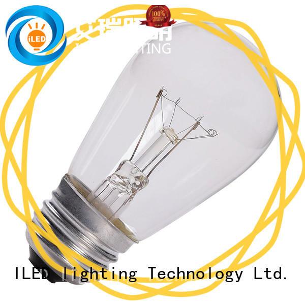 11w edison style light bulbs customized for restaurant