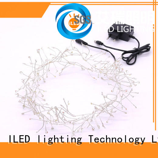 white plug in wire fairy lights manufacturer for christmas