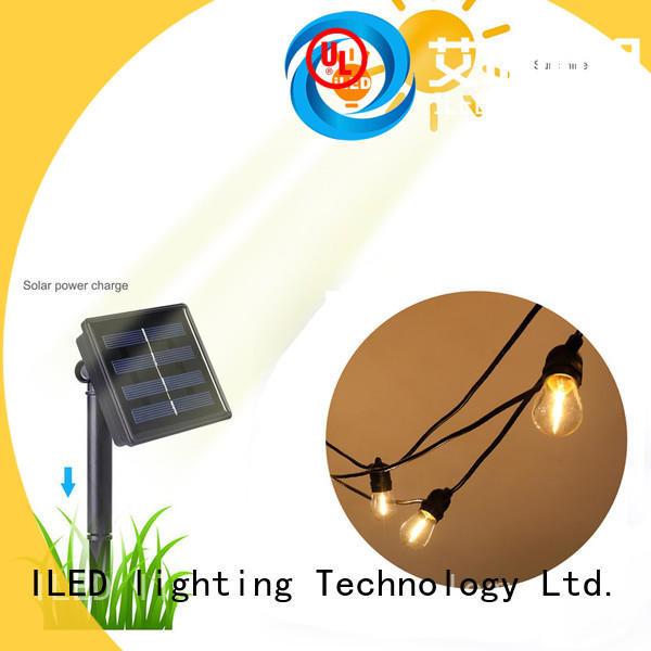 ILED elegant solar festoon lights manufacturer for outdoor
