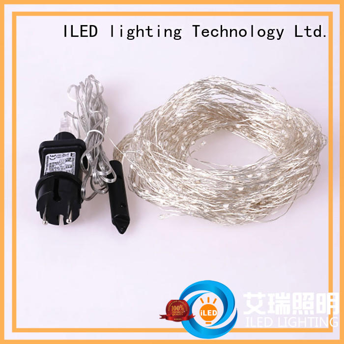 ILED remote plug in copper wire lights lamp for household