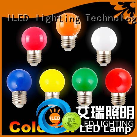 ILED 2700k best led light bulbs series for decor