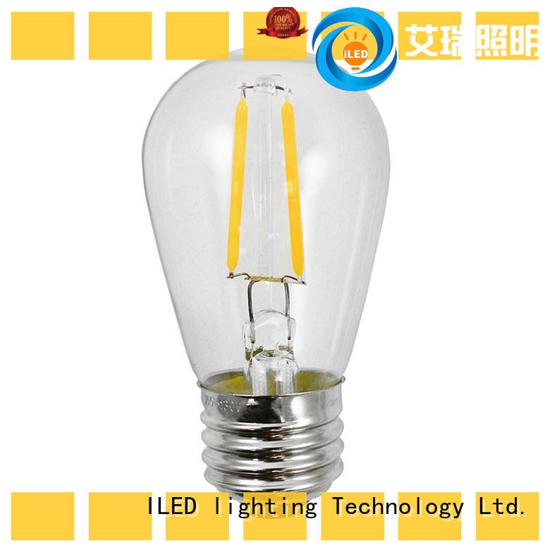 ILED energy saving light bulbs series for decor