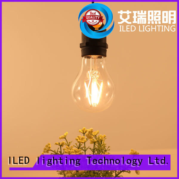 ILED clear energy saving light bulbs for party