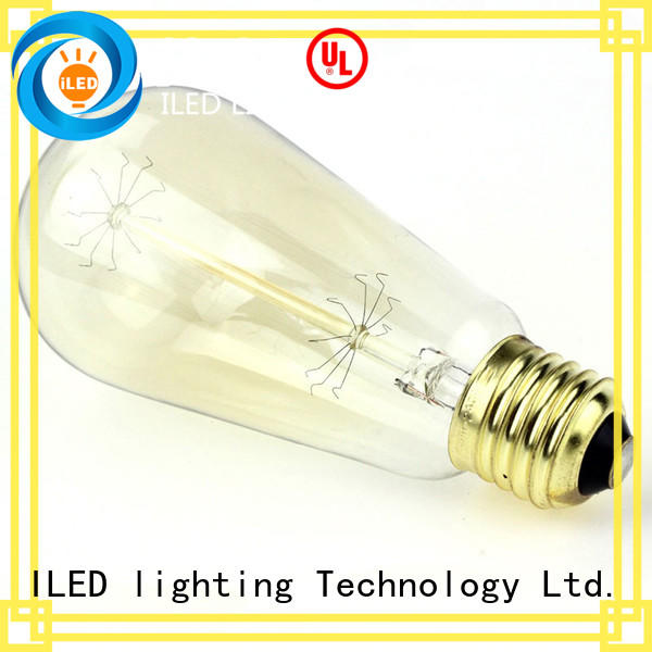 ILED edison bulb lamp for office