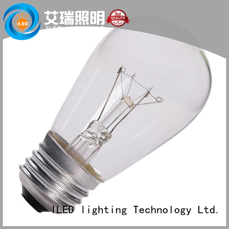 antique edison led light bulb personalized for cafe