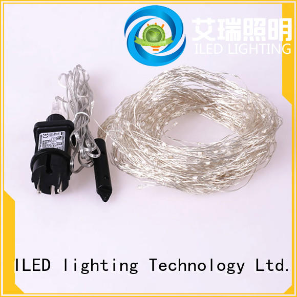 plug in fairy lights supplier for christmas ILED