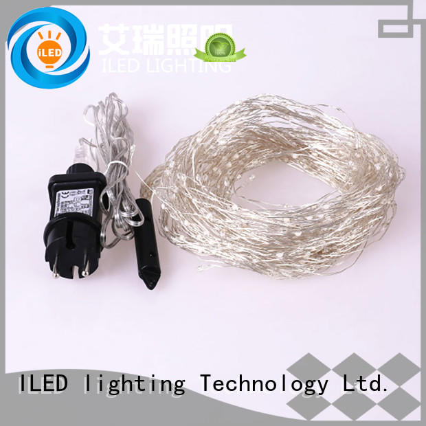 ILED plug in fairy lights manufacturer for party