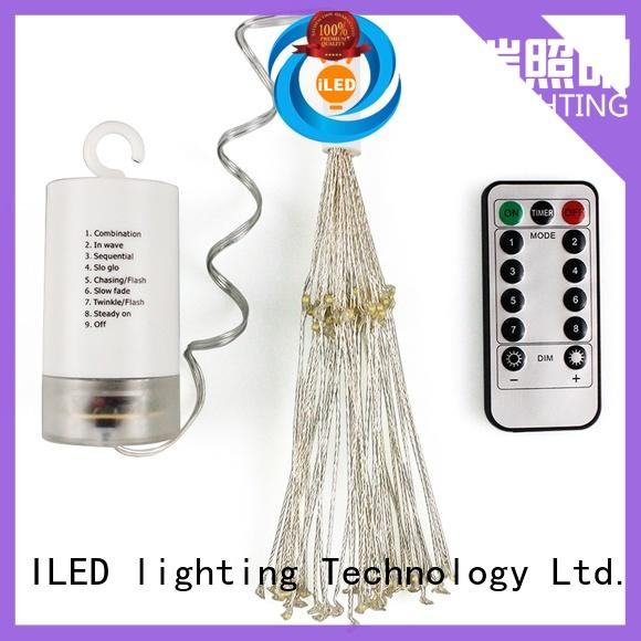 ILED strings battery operated wire lights