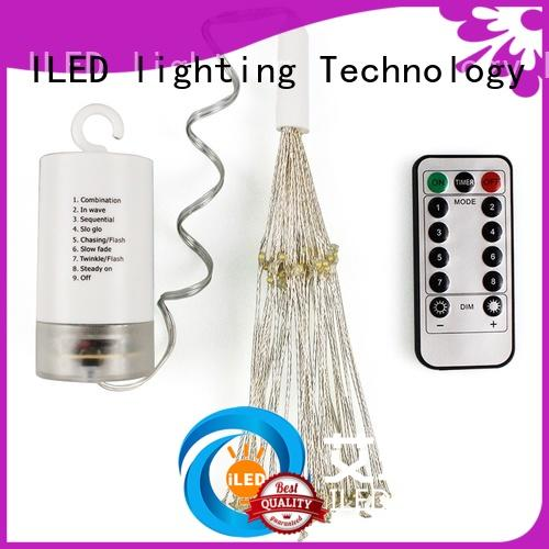 starry battery powered fairy lights lamp for bistro