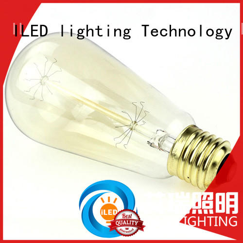 edison style light bulbs lamp for bedroom ILED