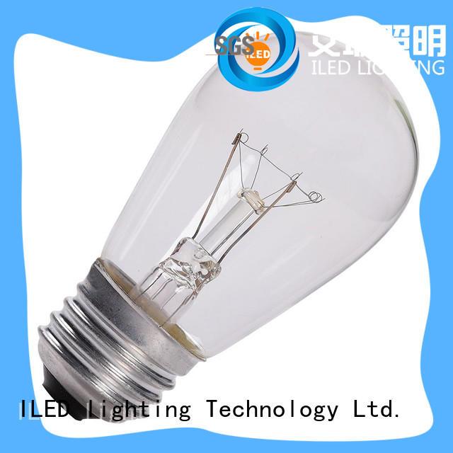 ILED environmental edison led light bulb manufacturer for restaurant