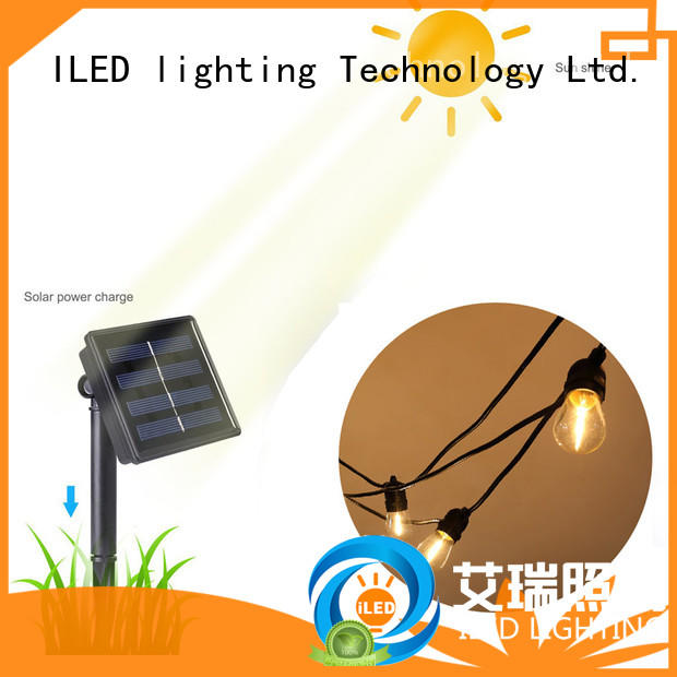 festoon lights solar festoon for pergola ILED
