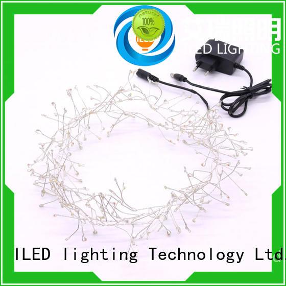 string plug in fairy lights customized for weddings ILED