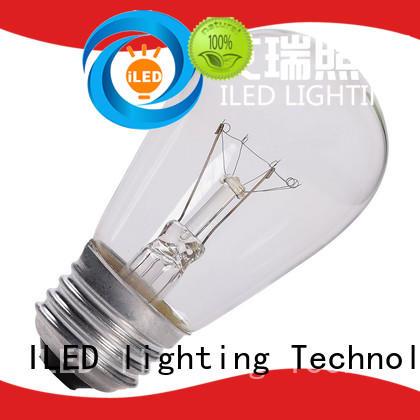 s14 led edison bulb 11w for cafe ILED