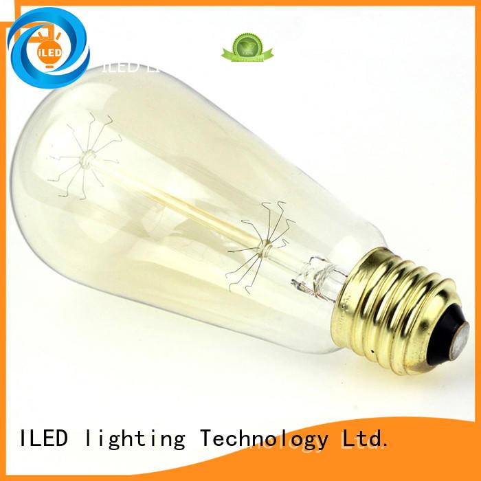 ILED pendant edison led light bulb manufacturer for office