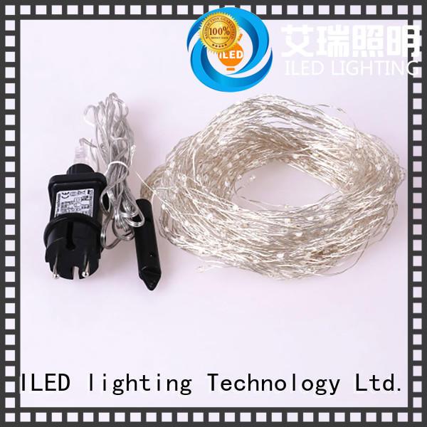 fairy led plug in copper wire lights christmas plug ILED company