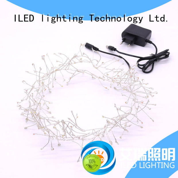 ILED plug in copper wire lights manufacturer for party