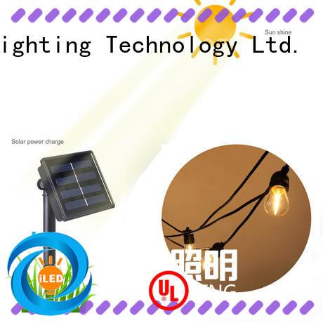 ILED elegant solar festoon lights manufacturer for open field