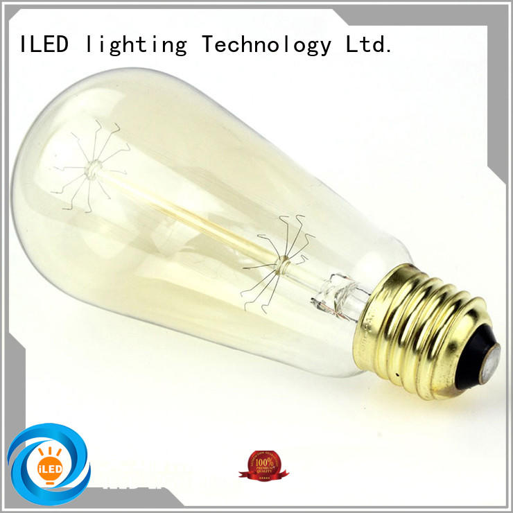 lamp vintage edison lights personalized for cafe ILED