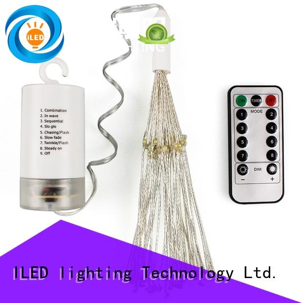 battery operated outdoor string lights for wedding ILED