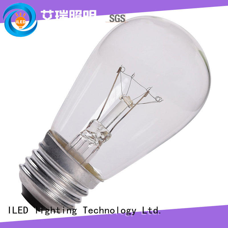 commercial edison style light bulbs personalized for restaurant