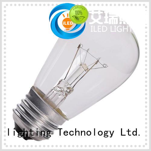 pendant edison style light bulbs customized for cafe