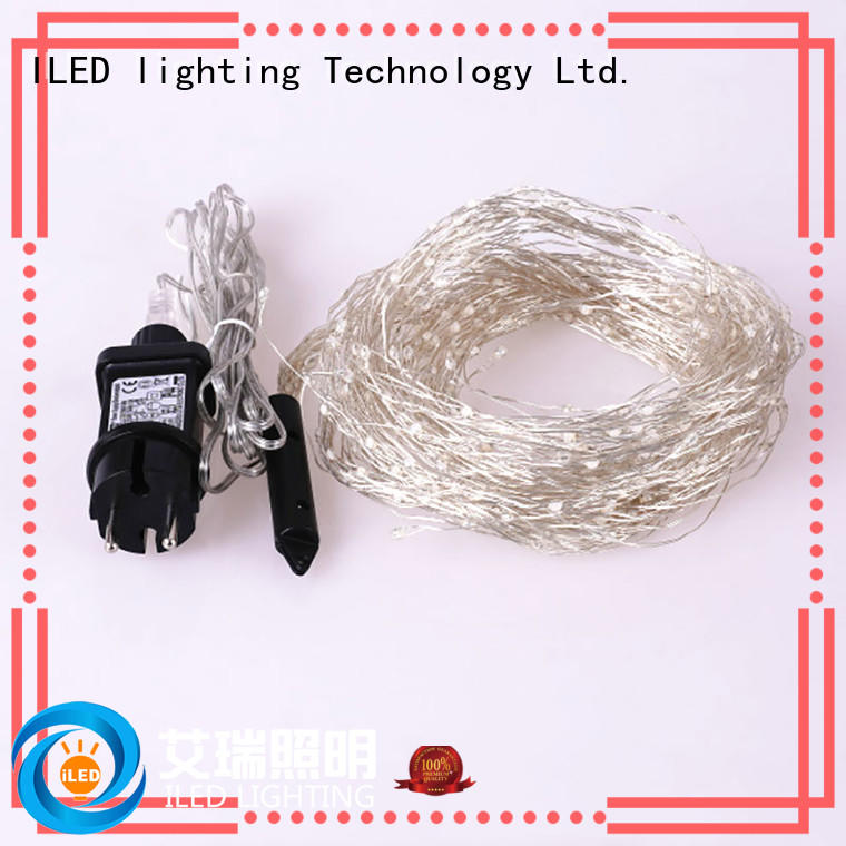 ILED dimmable plug in wire fairy lights personalized for household