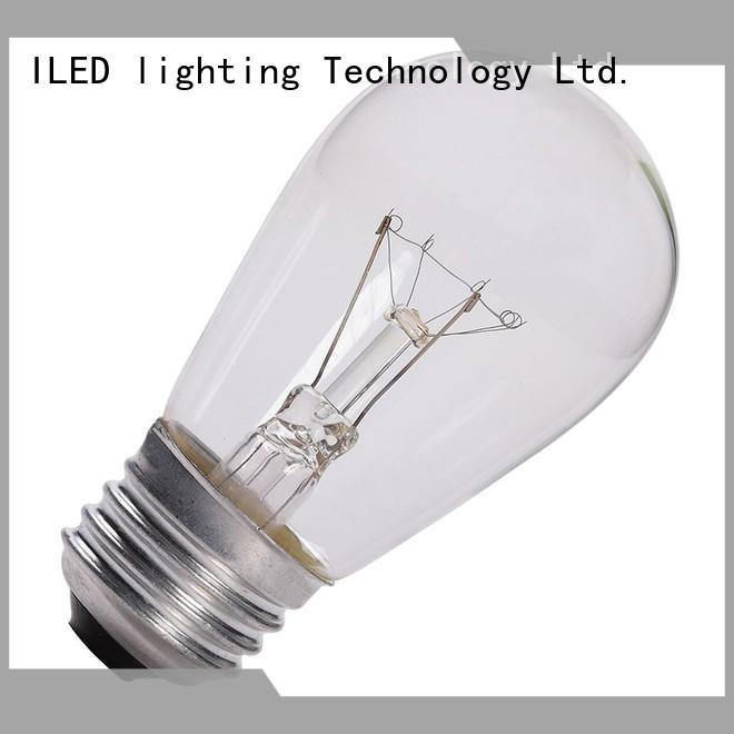 ILED 2700k edison led light bulb personalized for cafe