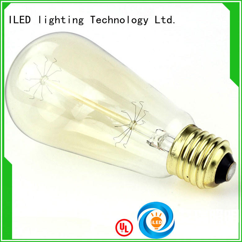 ILED commercial edison bulb manufacturer for cafe