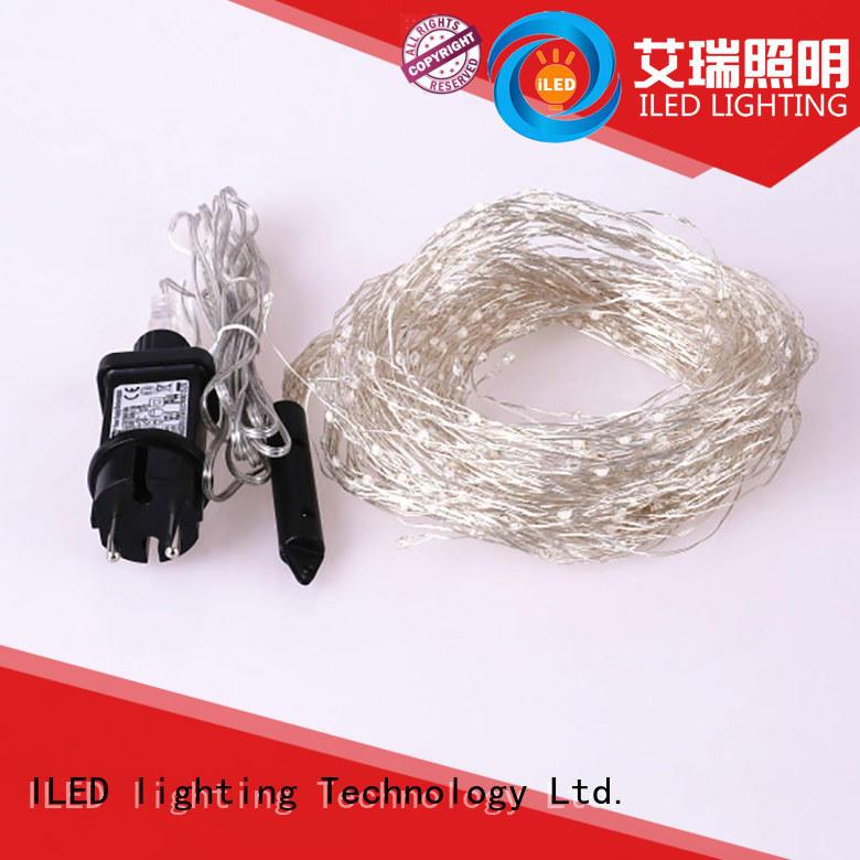 ILED fairy lights adaptor plug supplier for tree