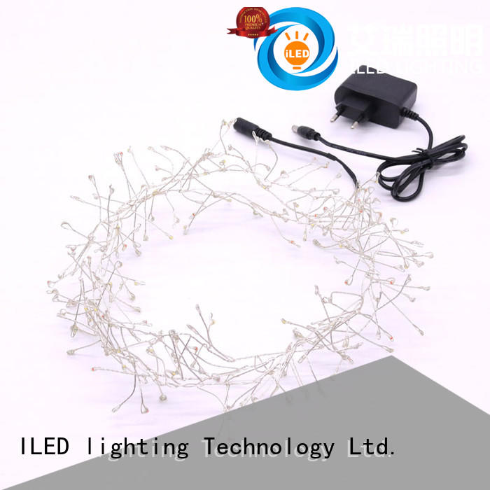 remote plug in fairy lights lamp for bedroom ILED