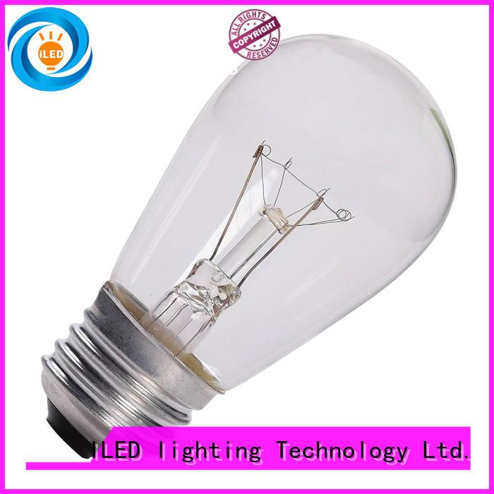 ILED edison led light bulb personalized for restaurant