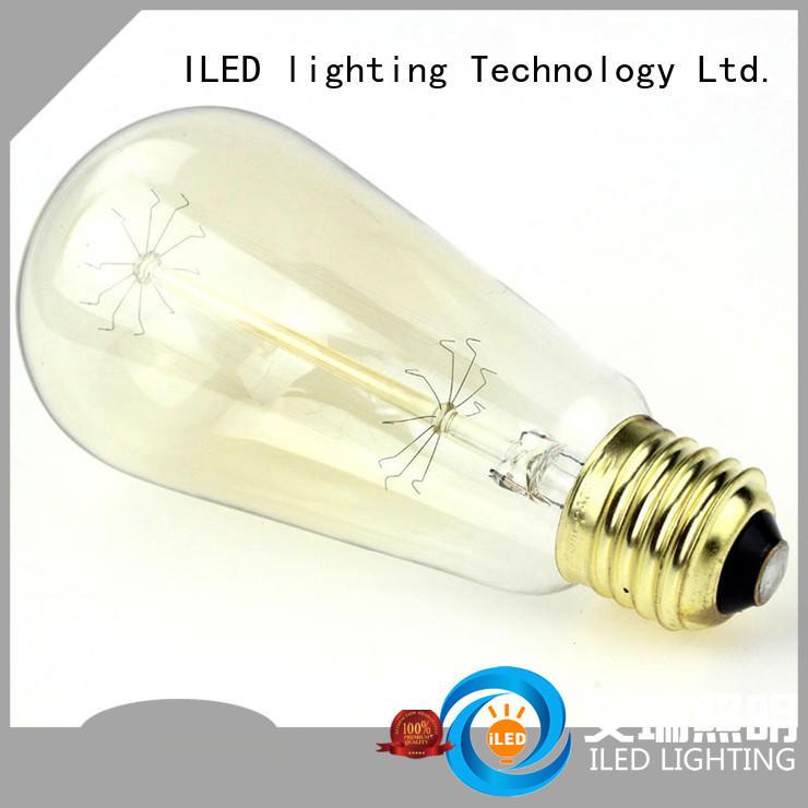 ILED pendant edison style light bulbs manufacturer for bedroom