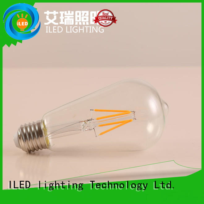 ST64 LED Light Bulb 4W 2700K E27 Lamp Base