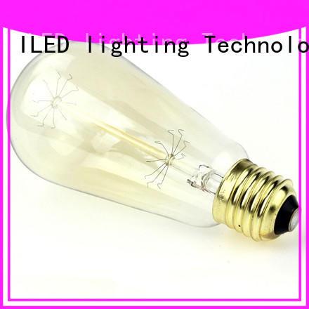 ILED standard edison bulb customized for cafe
