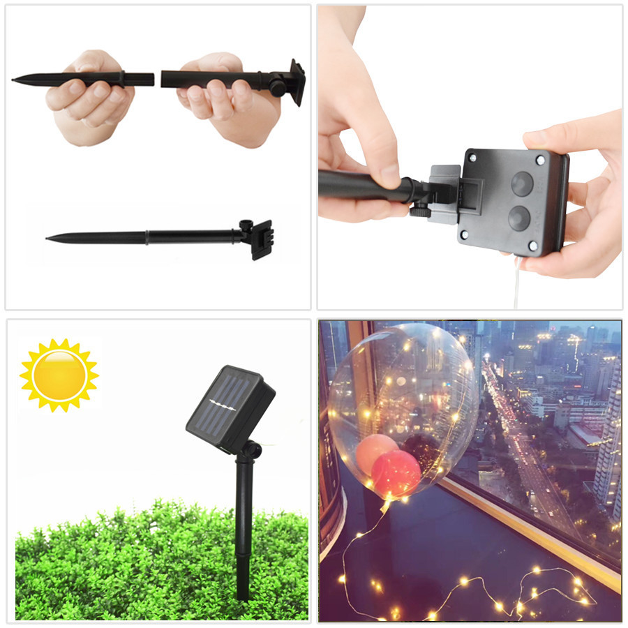 solar festoon lights lamp for garden ILED-5
