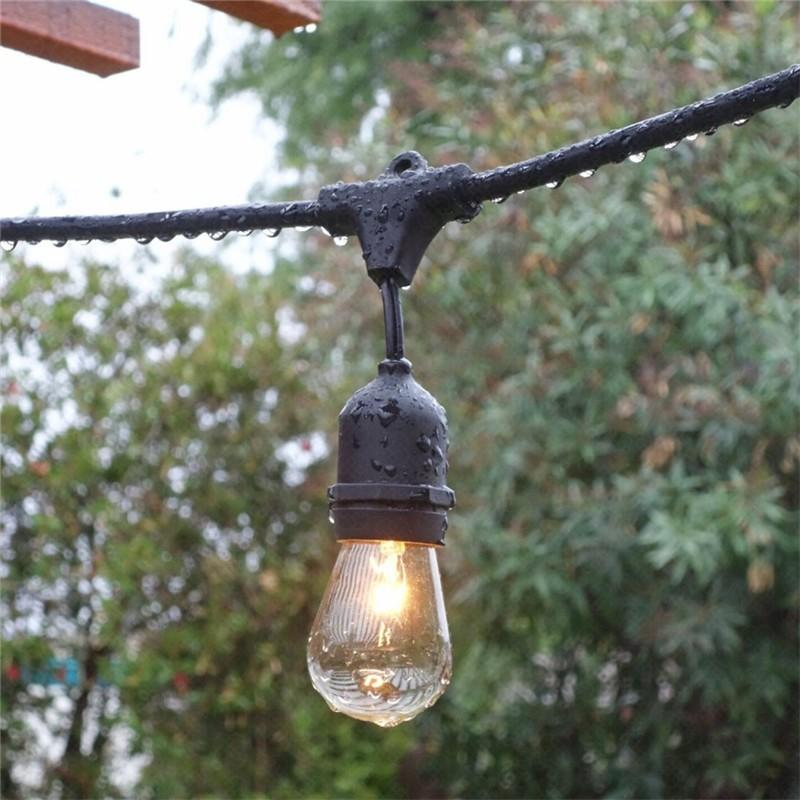solar festoon lights lamp for garden ILED