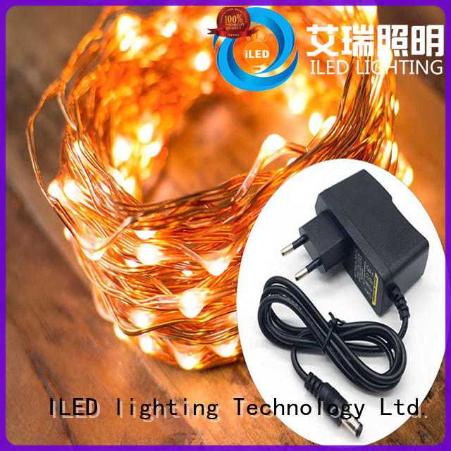 ILED dimmable plug in fairy lights lamp for weddings