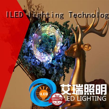 ILED durable led copper string lights design for christmas