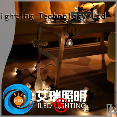 low voltage led cafe string lights lamp for festival