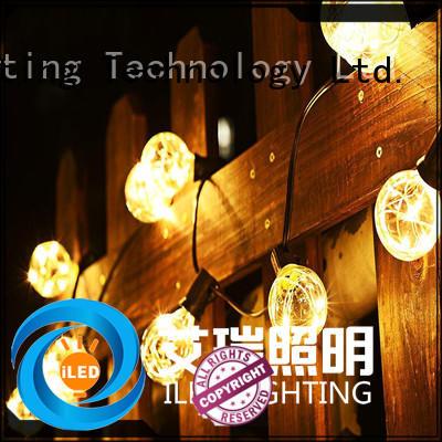 ILED festoon string lights manufacturer for outdoor