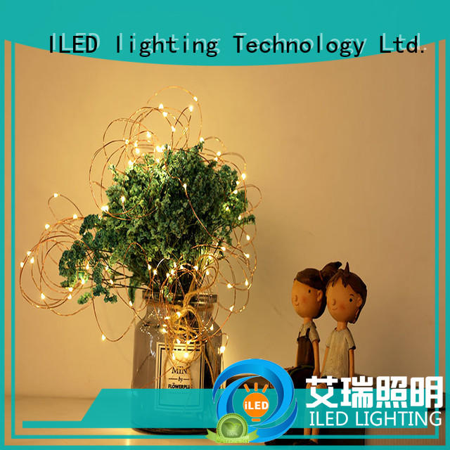 starry battery operated led lights on copper wire supplier for party