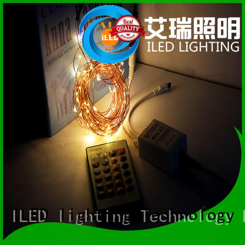 string plug in wire fairy lights supplier for household ILED