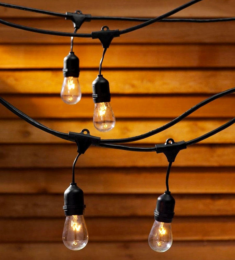 ILED waterproof garden string lights design for garden