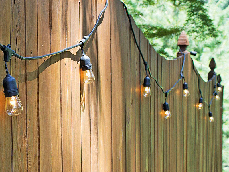 Festoon String Light 14.4M Australia Plug Waterproof Patio Party Wedding Lamp