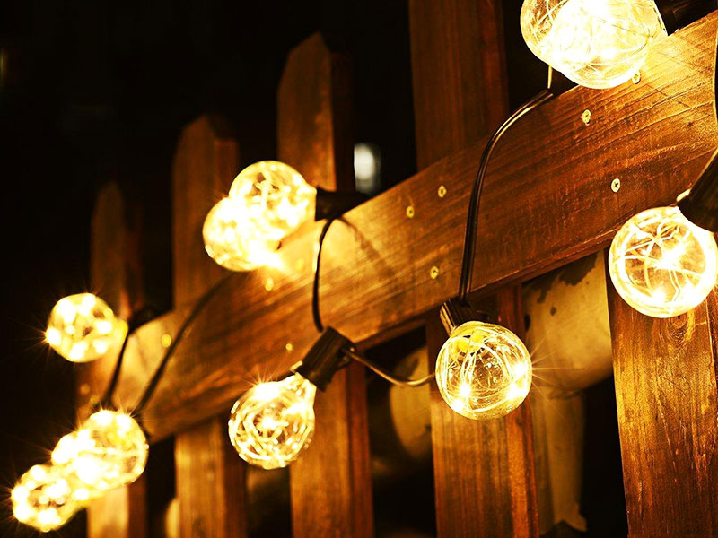 ILED commercial festoon string lights manufacturer for indoor-1